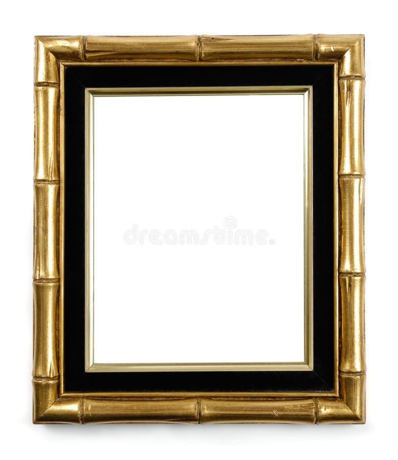 rama bambusa ozłacający zdjęcie fotografia stock