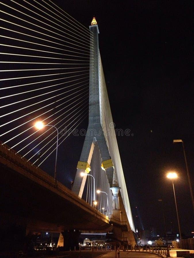 Rama 8 bridge royalty free stock photography