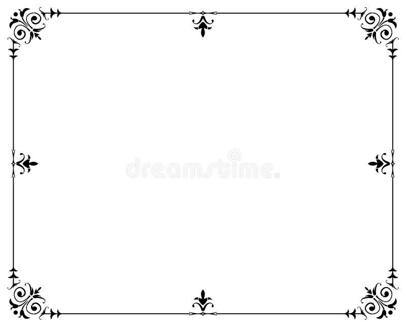 Rama Dekoracyjna Obraz Stock