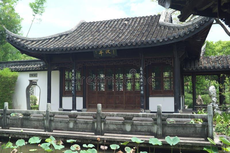 Rama IX国王公园的中国房子 库存照片