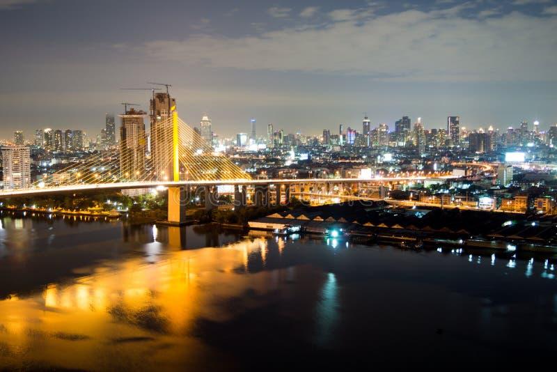 Rama IX桥梁 免版税库存图片