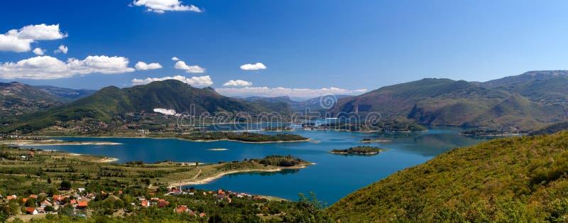 Rama jezioro w Bośnia, Herzegovina - (Ramsko Jezero) fotografia royalty free