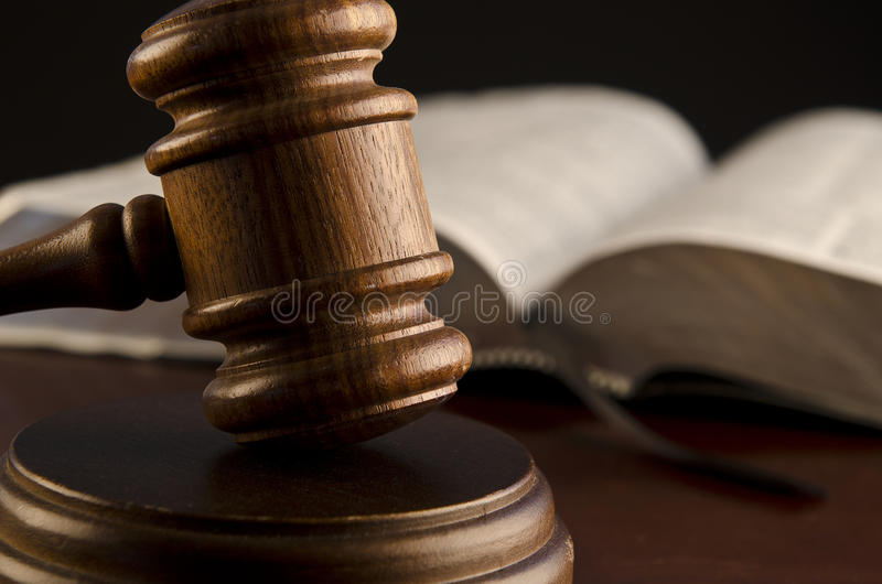 Rama judicial del gobierno fotos de archivo libres de regalías