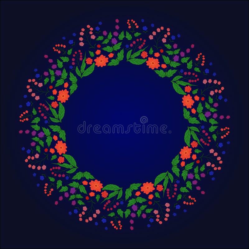 Rama, kwiat rabatowy, kwiecisty, dekoracja, boże narodzenia, serce, czerwień, ilustracja, abstrakt, zieleń, biel, kwiaty, miłość, royalty ilustracja