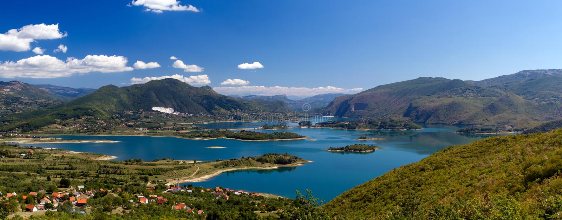 Rama Lake (Ramsko Jezero) in Bosnië - Herzegovina royalty-vrije stock fotografie