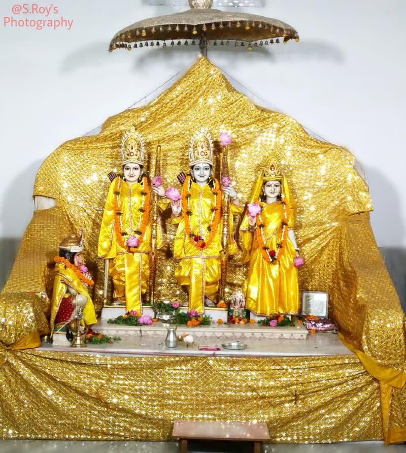 Rama, Laxmana, Sita & Hanuman royaltyfri fotografi