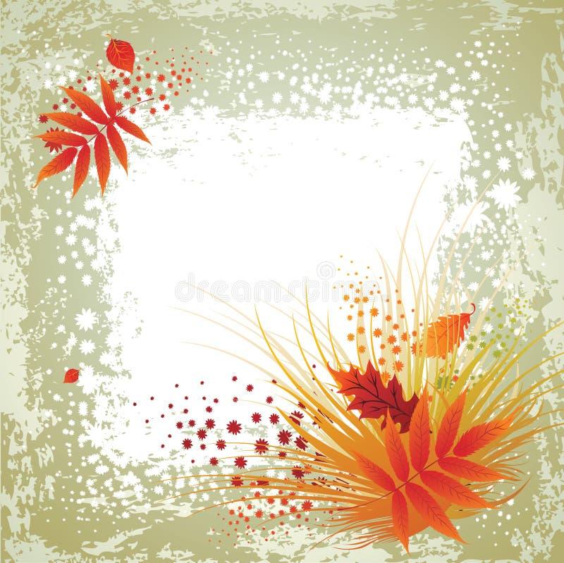 rama leafs dziękczynienie wektor royalty ilustracja