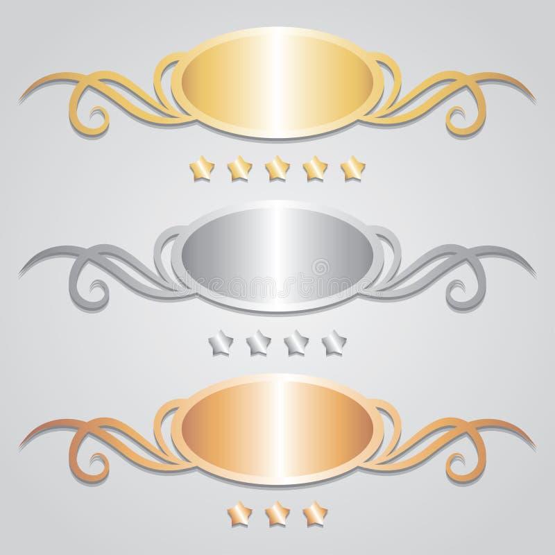 rama metal ilustracji