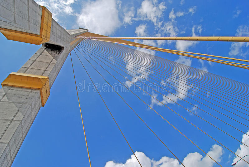 Rama ocho bridges.bangkok imagen de archivo libre de regalías