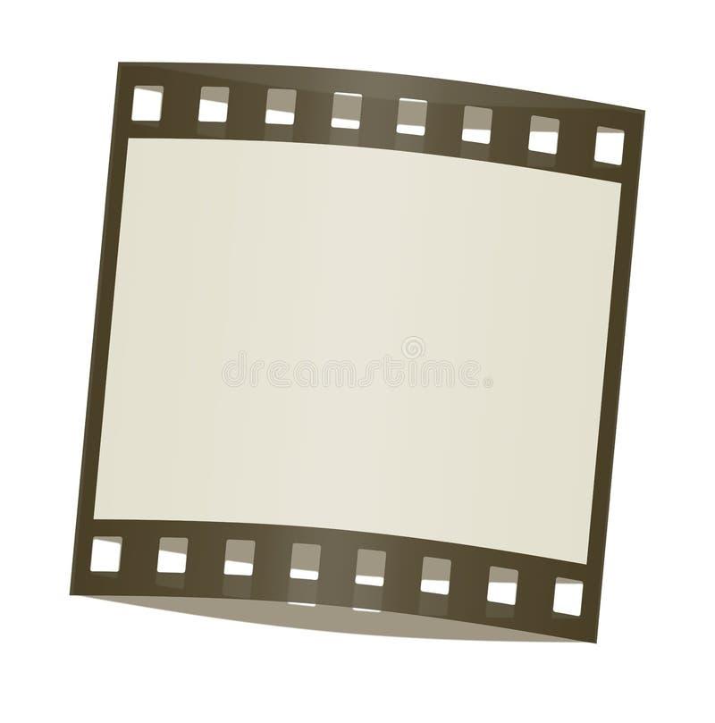 rama ocieniająca filmowej ilustracji