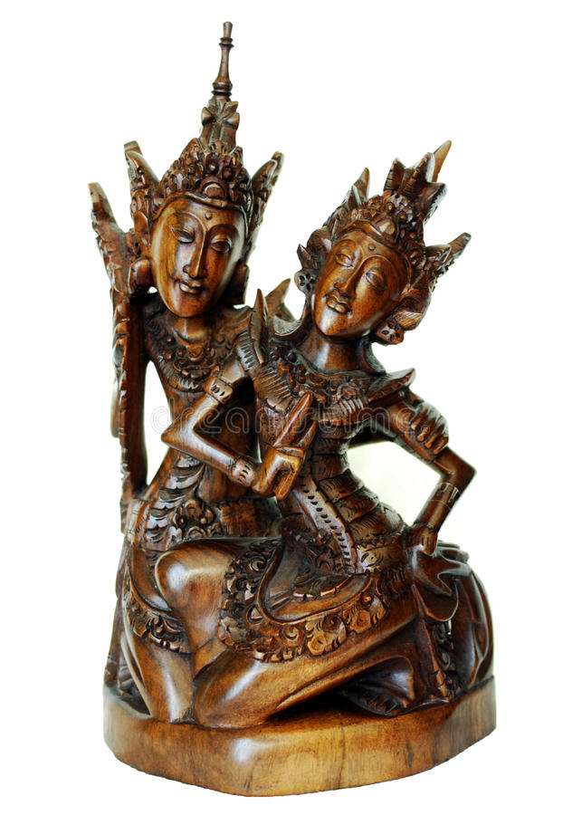 Rama And Sita Royalty Free Stock Image