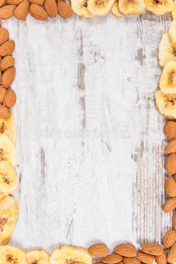 Rama składniki zawiera kopaliny, węglowodany i żywienioniowego włókno, odżywczy łasowania pojęcie fotografia stock