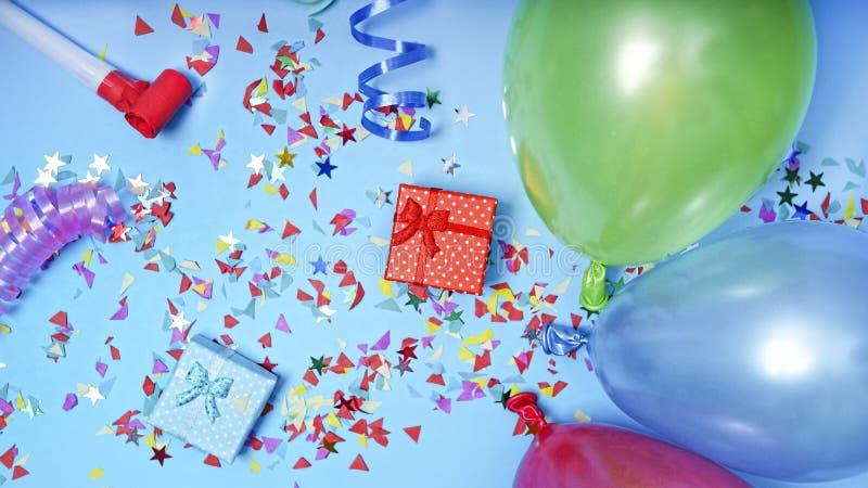 Rama, urodziny, rama, dekoracji przyjęcie, tło, pudełko, Ramowy Karnawałowy dzień, cukierek, rama, urodziny, rama, dekoracji przy obraz stock