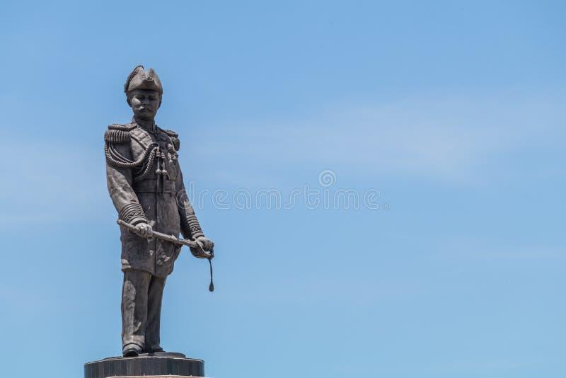 Rama V国王雕象泰国泰国 免版税库存图片
