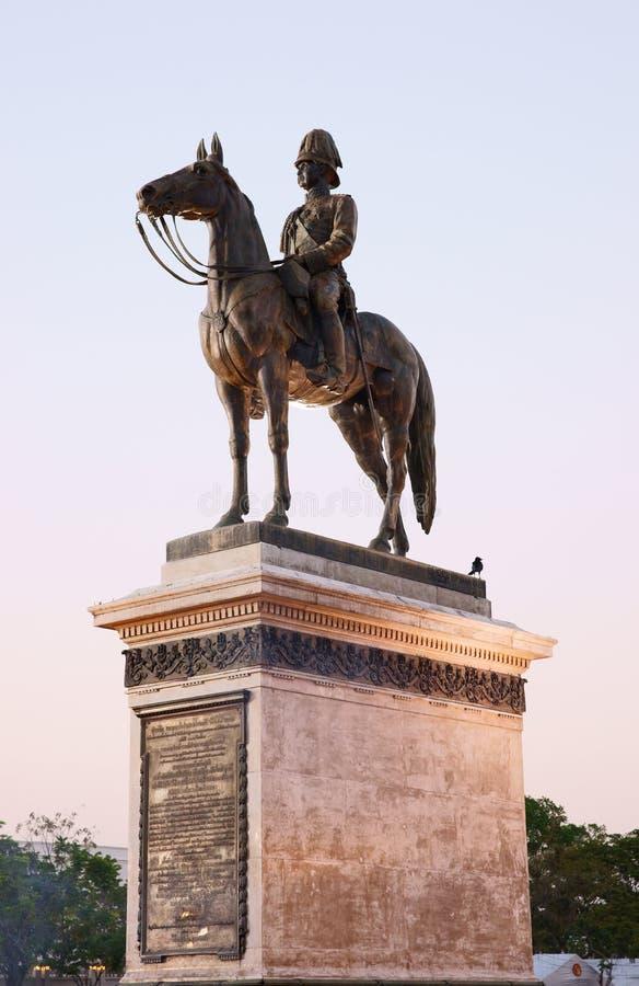 Rama V Monument stock photography