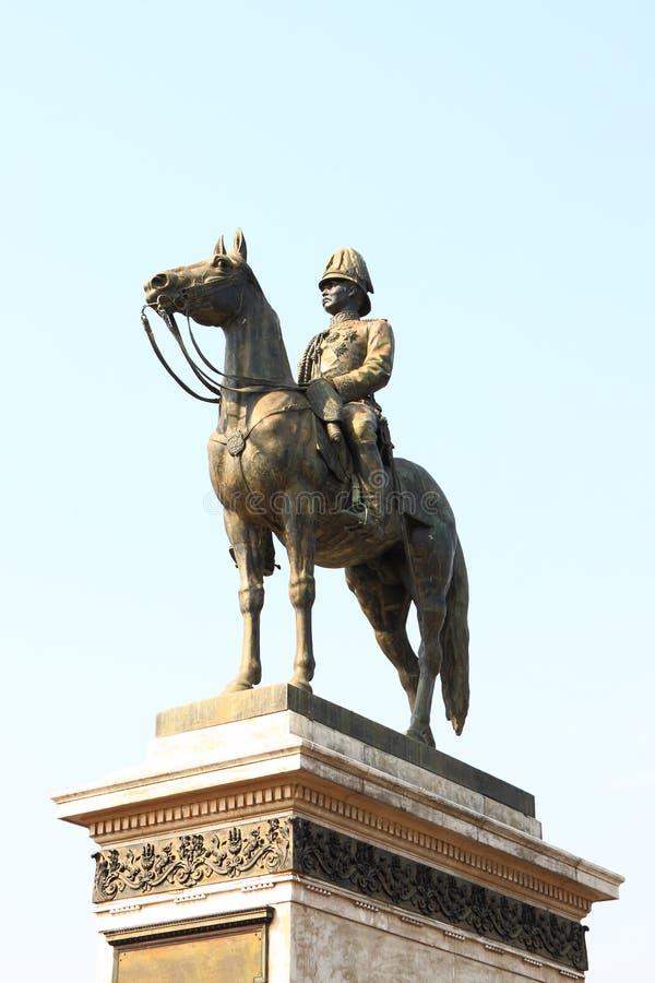Rama V standbeeld stock afbeeldingen