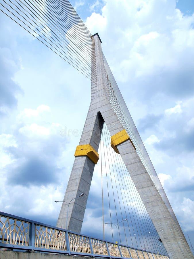 rama VIII моста стоковые изображения