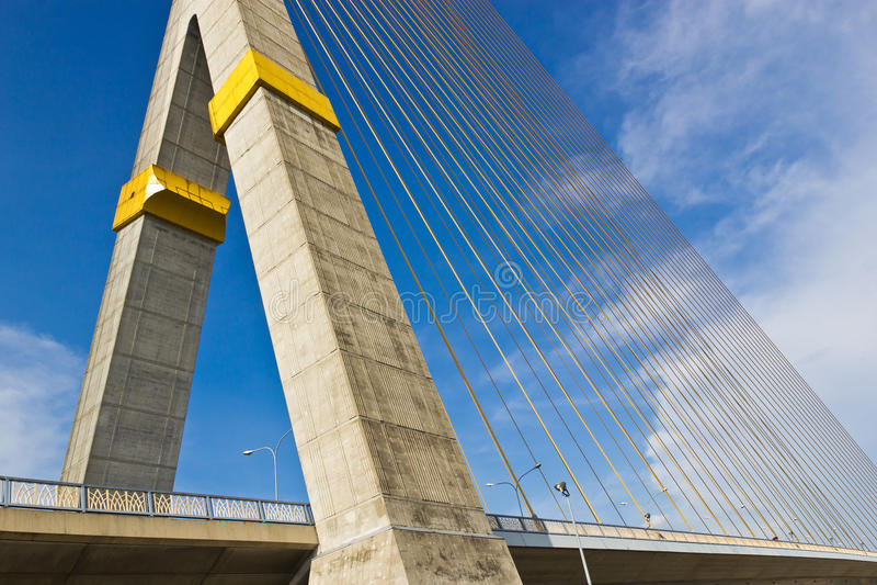 rama VIII моста bangkok стоковое фото