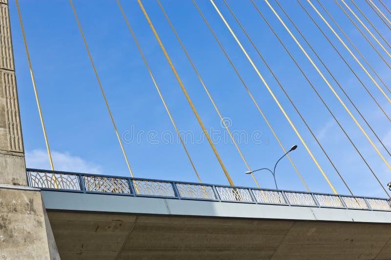 Rama VIII bridge in Bangkok royalty free stock photo