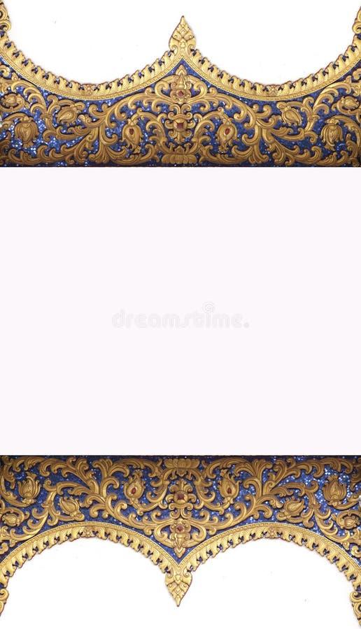 Rama wzór świątynia obrazy royalty free