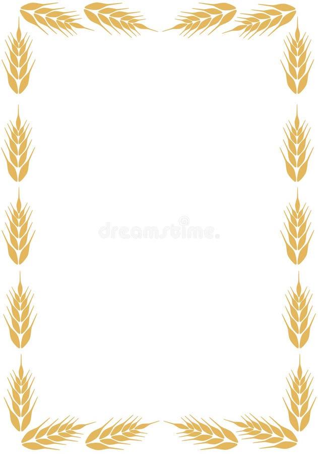 Rama z ucho banatka ilustracji