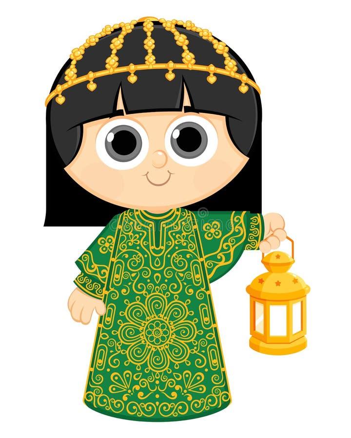 Ramadã feliz ilustração royalty free