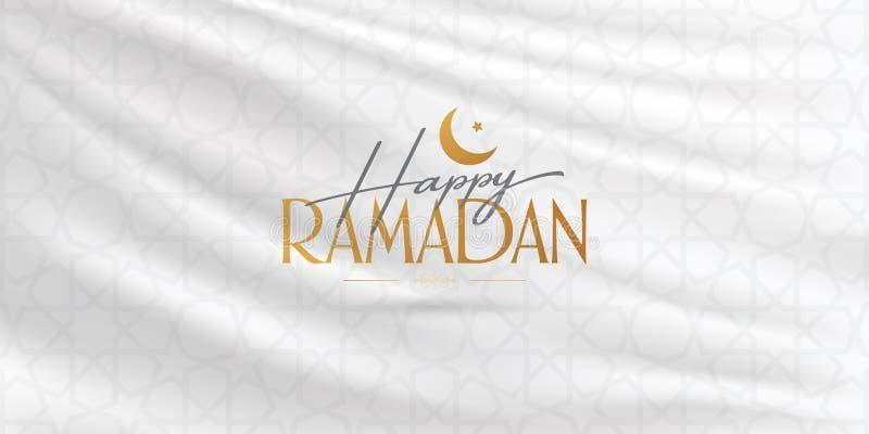 Ramad? feliz M?s santamente da comunidade mu?ulmana Ramazan Quadro de avisos, cartaz, meio social, molde do cart?o ilustração stock