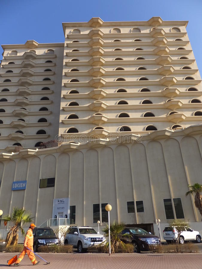 Ramada-Hotel-Büro Dubai in Dubai lizenzfreies stockfoto
