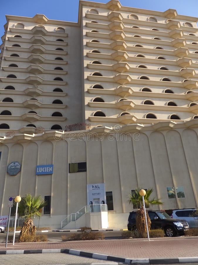 Ramada-Hotel-Büro Dubai in Dubai lizenzfreie stockfotografie
