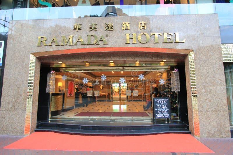 Ramada-Hotel in Hong Kong lizenzfreie stockfotos