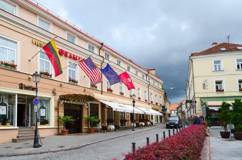 Ramada-Hotel und Reihen Vilnius 5*, Vilnius, Litauen lizenzfreie stockfotos