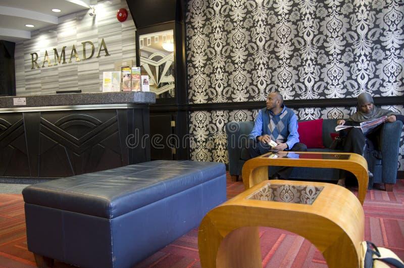 Ramada-Hotellobby stockfotografie