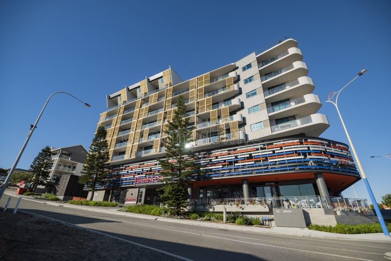 Ramada-Wohnungen, Scarborough-Strand West-Australien lizenzfreie stockfotografie