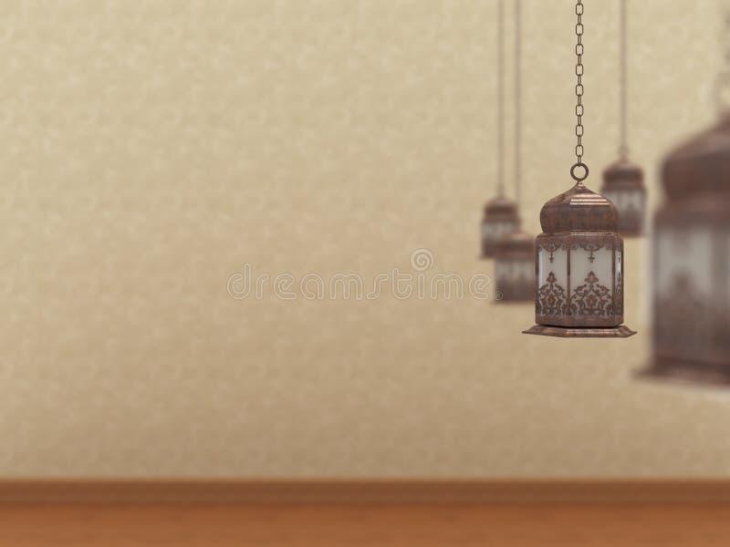 Ramadan 2012 v8 vector illustratie