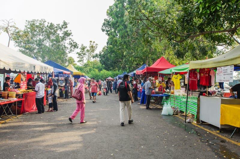 Ramadan Bazar Kuala Lumpur obraz royalty free