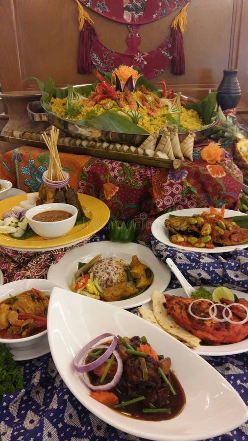 Ramadan Buffet Spread royalty-vrije stock afbeelding