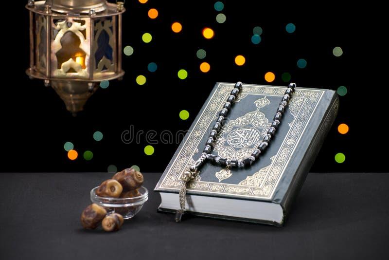Ramadan Celebration Symbols ed oggetti fotografie stock libere da diritti