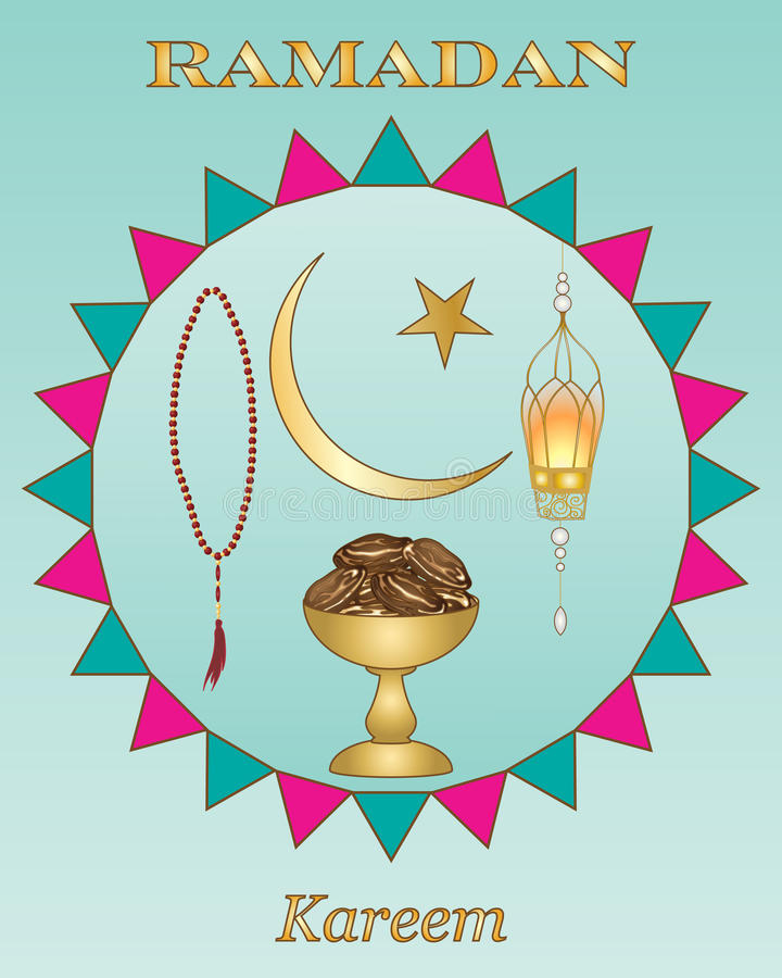 Ramadan design royalty free illustration