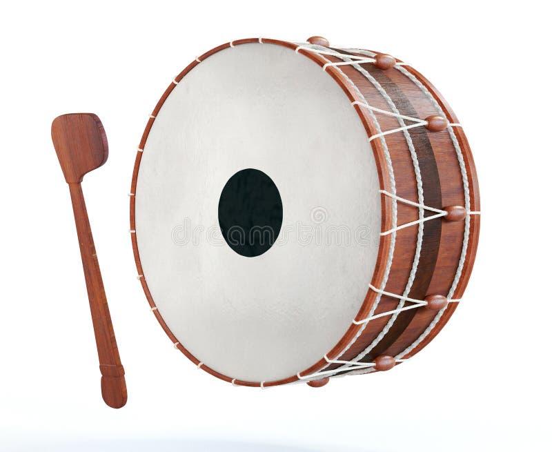 Ramadan drum 3D Rendered royalty free stock photography