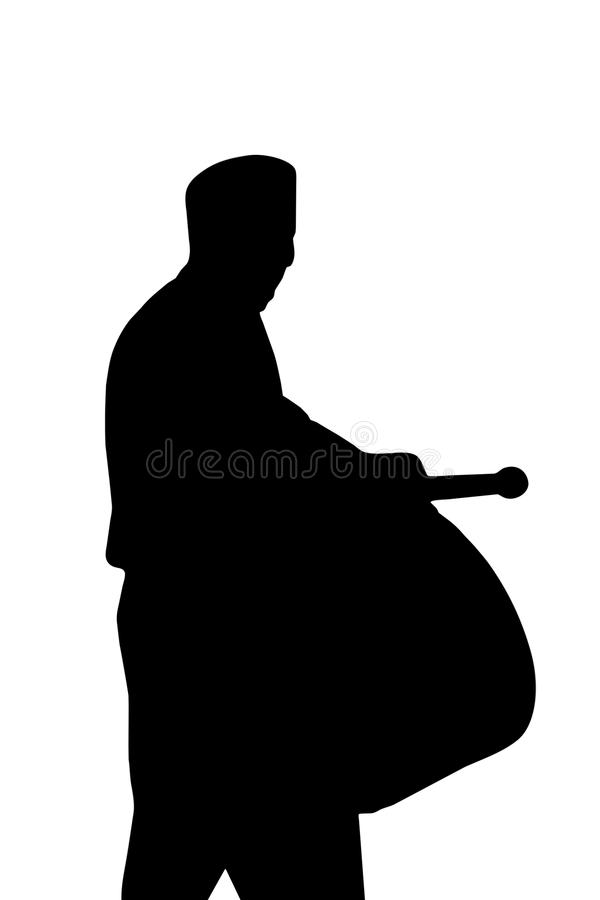 Ramadan Drummer ilustración del vector