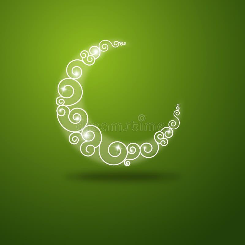 Ramadan hälsningskort royaltyfri illustrationer