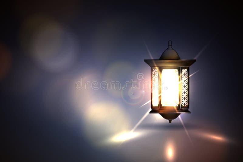 ramadan kareem的灯笼 图库摄影