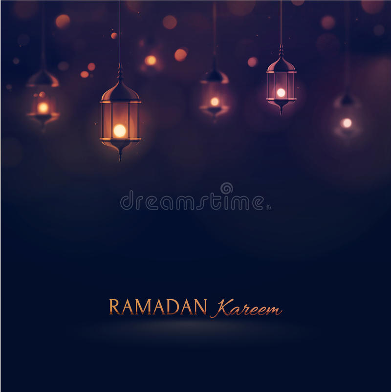 Ramadan Kareem stock illustratie