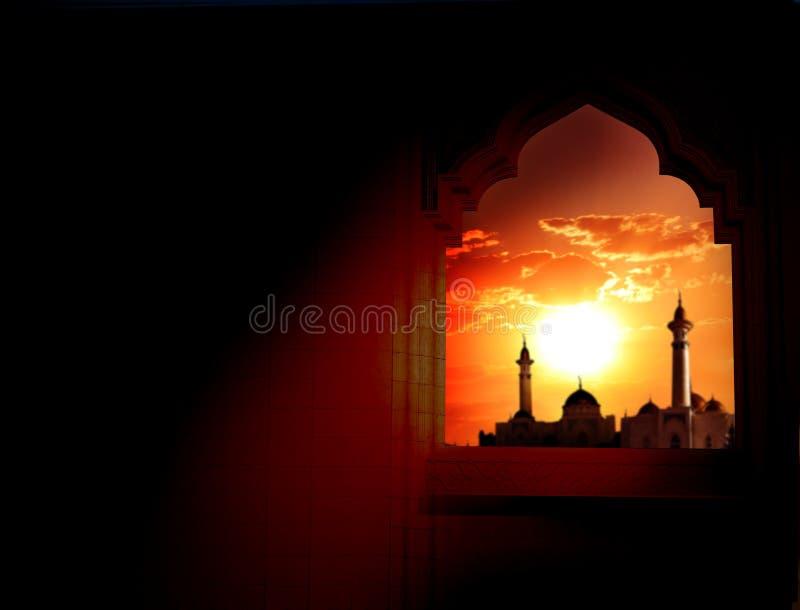 Ramadan Kareem-achtergrond stock afbeeldingen