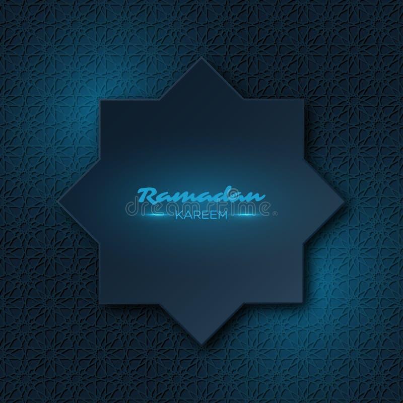 Ramadan Kareem-achtergrond