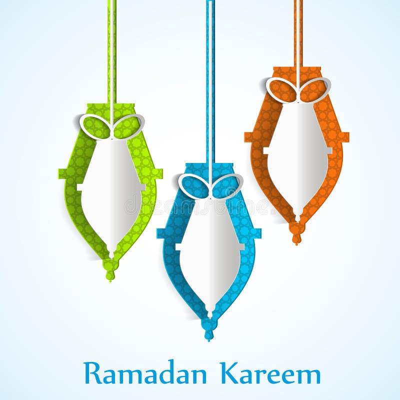 Ramadan kareem achtergrondgodsdienstvakantie
