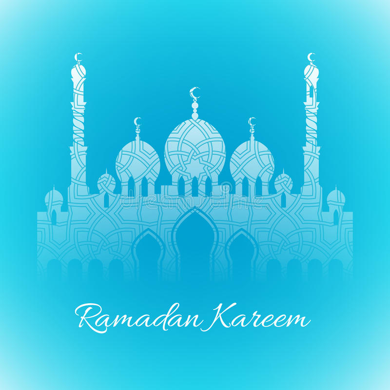 Ramadan kareem achtergrondontwerp vectorillustratie