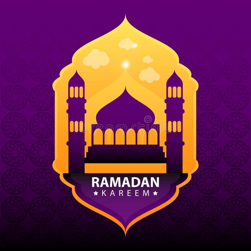 Ramadan Kareem Background Vector vektor abbildung