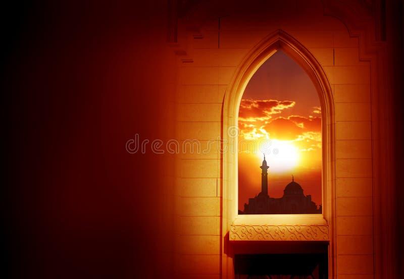Ramadan Kareem bakgrund royaltyfri foto