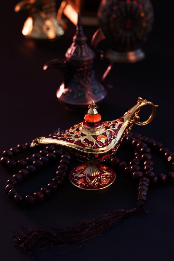 Ramadan Kareem, cumprimento festivo fotos de stock